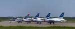 ブルーインパルス 飛行時間 いつ 7月23日 オリンピック 開会式